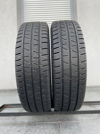 2szt zimowe 205/75R16C Pirelli 6,5mm 2020r bdb stan gwarancja Z3