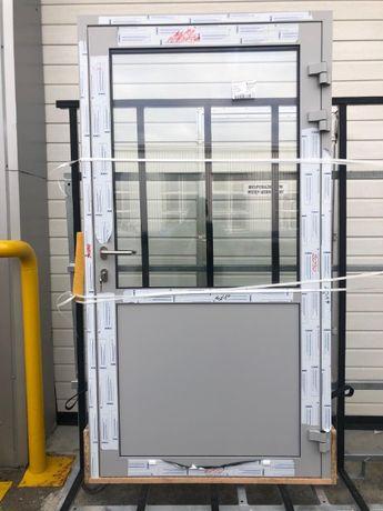 Drzwi aluminiowe ciepłe AS 75 SPRZEDAM