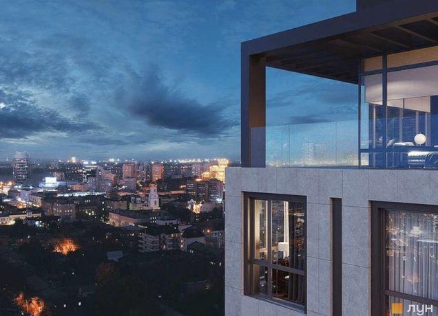 3 ОКНА! ЖК Женева 61м2. Лофт небо новодворянский панорама К12 loft