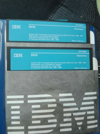Sistema Operativo IBM DOS 3.30 Ano 1987