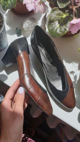 Кожаные туфли лодочки Бразилия