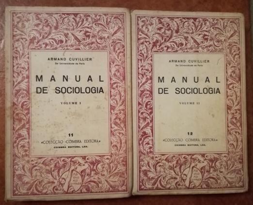 Manual de Sociologia – 1º, 2º Volumes.