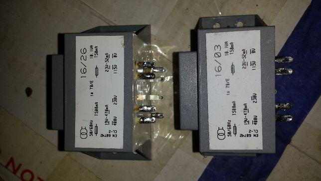 transformator 230V/24V/12V/400V 10W