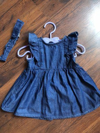 Платье на 6-9м