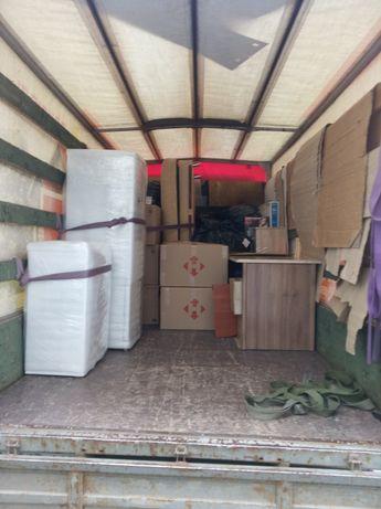 Перевозка мебели холодильников стиральных машин диванов вещей грузчики