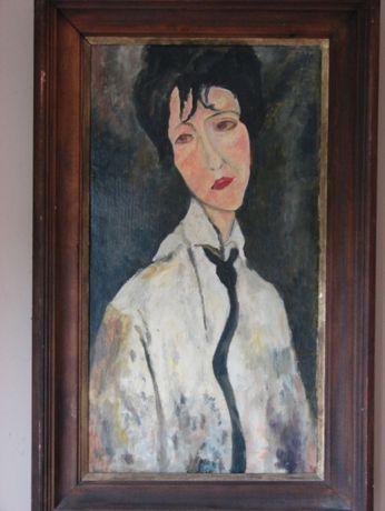 Amadeo Modigliani - portret kobiety