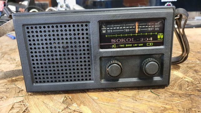 Radio Unitra sokół 304 PRL kolekcja vintage