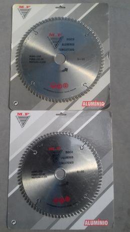 Disco corte de alumínio
