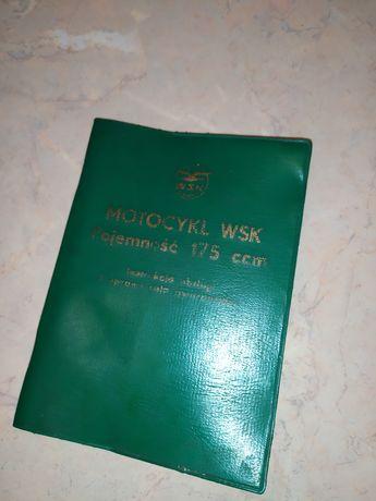 Instrukcja obsługi WSK 175