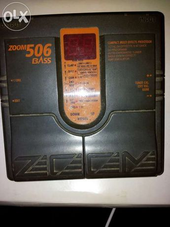 Pedal Zoom 506 Bass