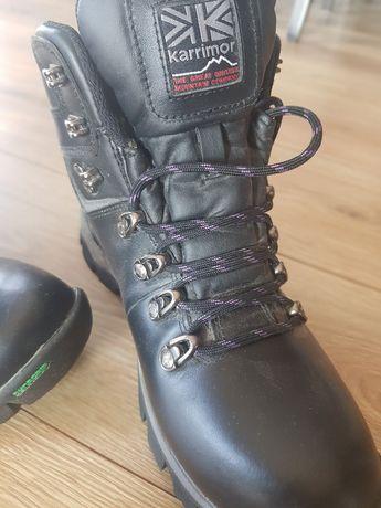 Buty chłopięce 38,5 24cm Karrimor Skiddaw DynaGrip Trekkingowe