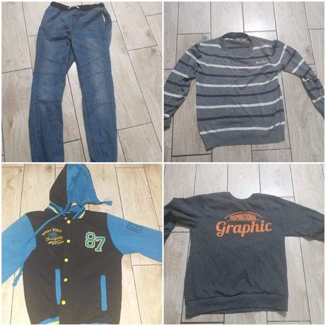Ubrania cena za całośc 75 zł