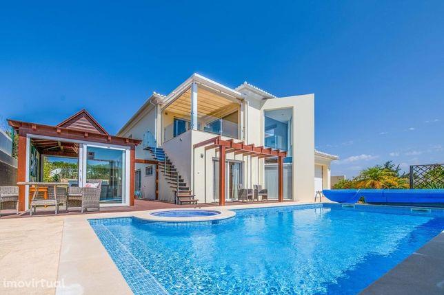 Incrível Casa Moderna T4 Com Vista Mar Na Luz