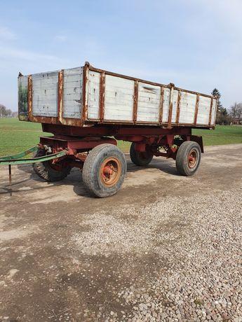 Przyczepa wywrotka 16 ton pneumatyczna Niemka hl hw bss 8011 d616