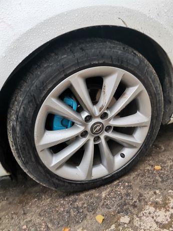 """Диски титановые 18"""" на резине Opel Astra"""