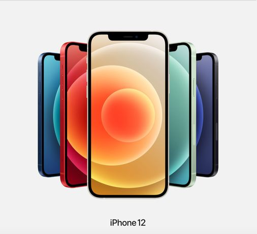 iPhone 12 White-Red-Green-Blue-Black 64|128|256GB МАГАЗИНiPeople!