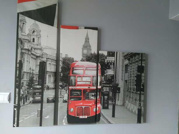 Obraz z 4 części Londyn