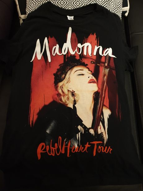 Madonna T-shirt original RebelHeart tour