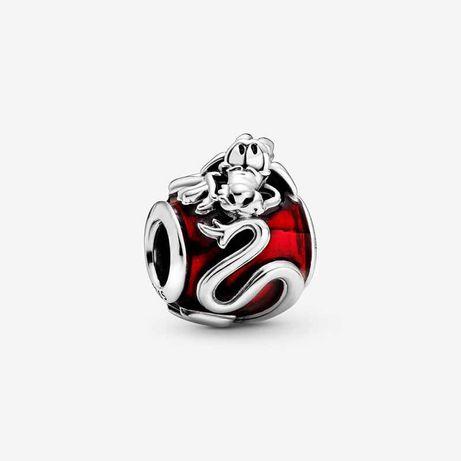 Charms Mulan Mushu Disney do Pandora Srebro 925 wybite na charmsie