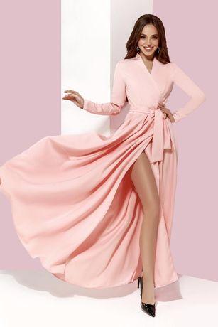 Женское платье в пол  Персик випуск / дружки