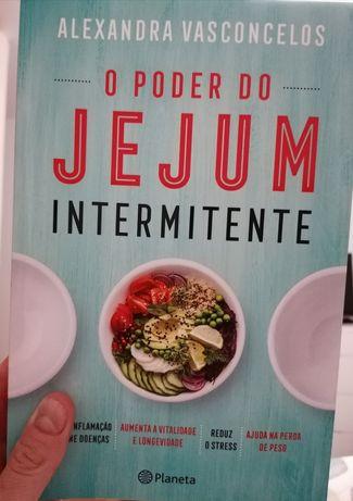 """Livro """"O PODER DO JEJUM INTEMITENTE"""" de Alexandra Vasconcelos"""