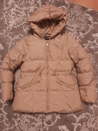 Puchowa kurtka Zara r. 140