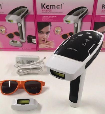 Эпилятор, фотоэпилятор KM 6812 / Встроен датчик, KEMEI эпиляция