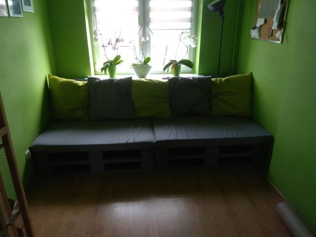 Sofa kanapa łóżko z palet