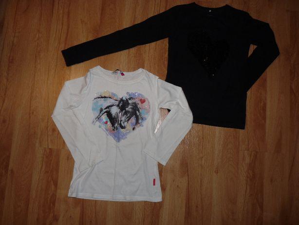bluzki z długim rękawem na dziewczynkę