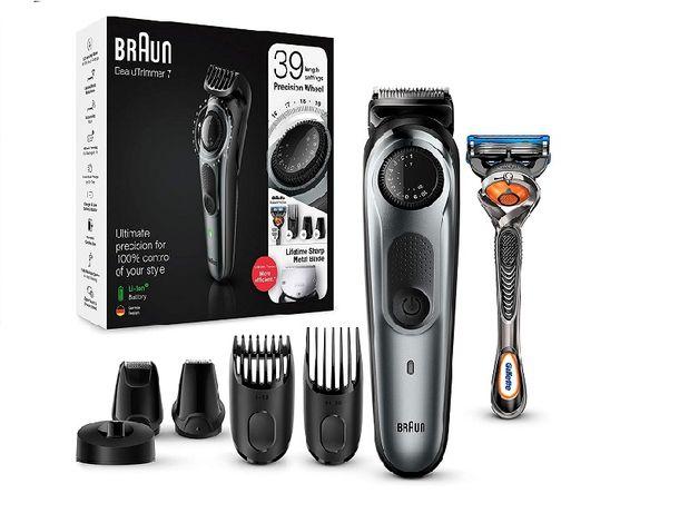 триммер для бороды, триммер и машинка для стрижки волос Braun BT7240