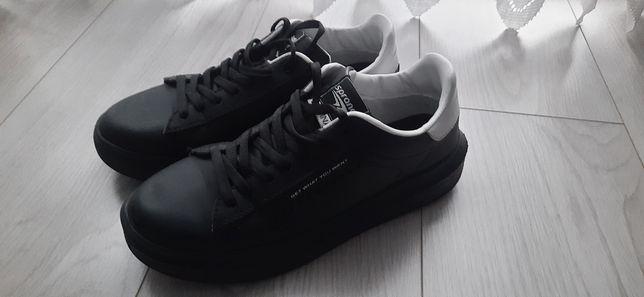 Buty sportowe Sprandi czarno białe 37