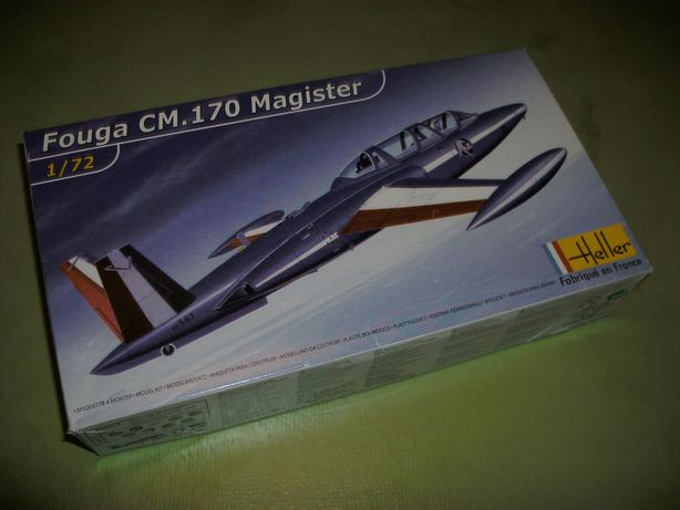Kit Modelismo avião Fouga CM.170 Magister da Heller à escala 1/72