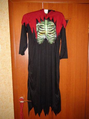 карнавальный костюм на Хелоуин скелет, ведьма, зомби...
