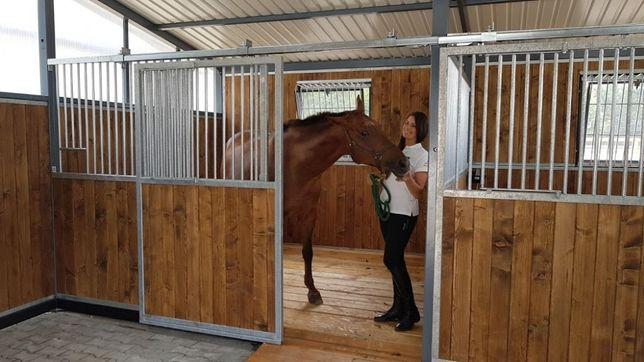 Boksy dla koni, fasada do stajni Gillmet Horses