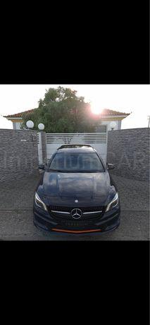 Mercedes CLA 220 cdi orange