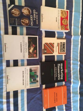 Livros área financeira