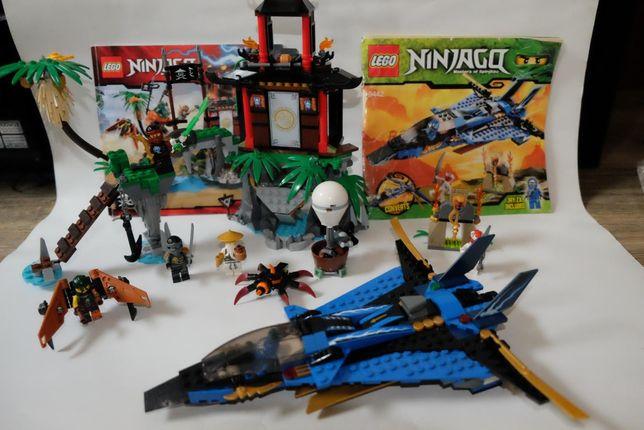 Lego Ninjago - 9442, 70604 - Wyspa tygrysiej wdowy, burzowy myśliwiec