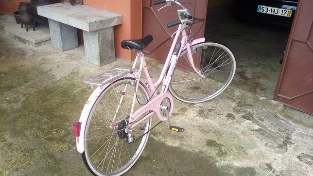 Bicicleta pasteleira.
