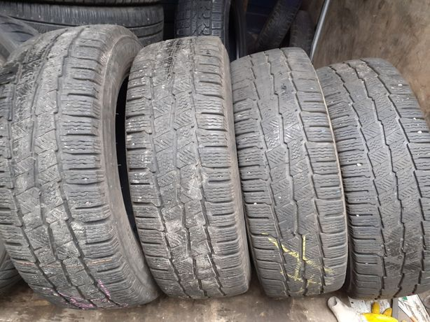 Opony zimowe do busa  Michelin  Agilis Alpin 215/65r16c komplet