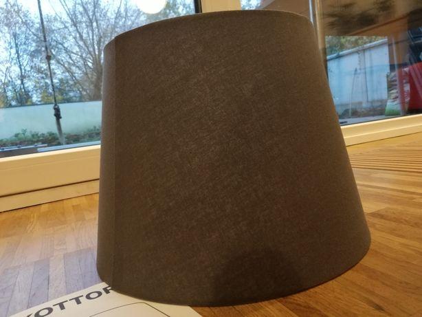 Abażur / Klosz stożkowy Skottorp IKEA nowy ciemnoszary 33 cm