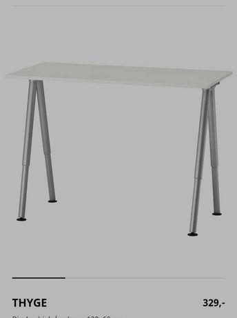 Biurko białe, nowoczesne 120x60
