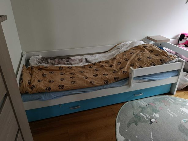 Łóżko dziecięce z szuflada 180x80