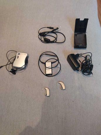 Aparaty słuchowe wraz z systemem wspomagającym AMIGO t 5
