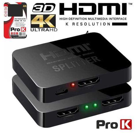 Ligue a sua BOX a vários TV´s - DISTRIBUIDOR HDMI