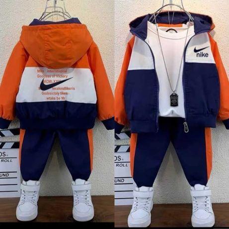 Дитячий спортивний костюм трійка