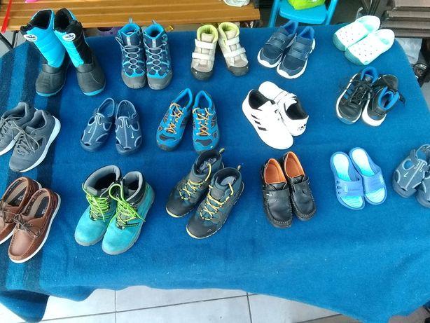 Adidas, Bartek, Nike- Buty, kozaki, trzewiki WYPRZEDAŻ SZAFY chłopiec