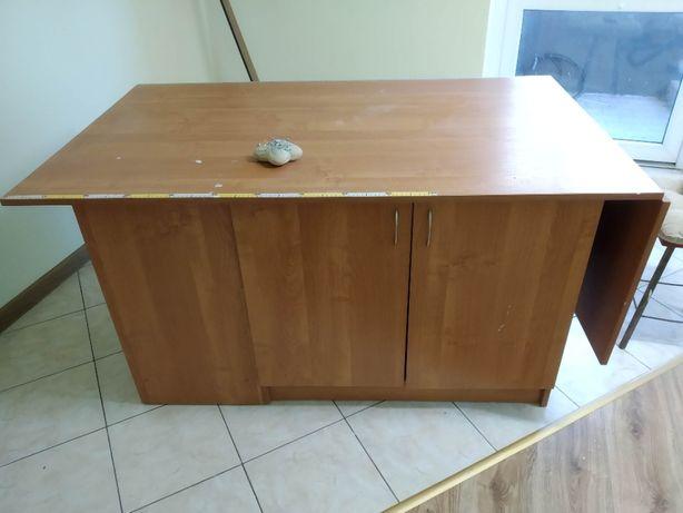 Stół krawiecki krojczy szafki