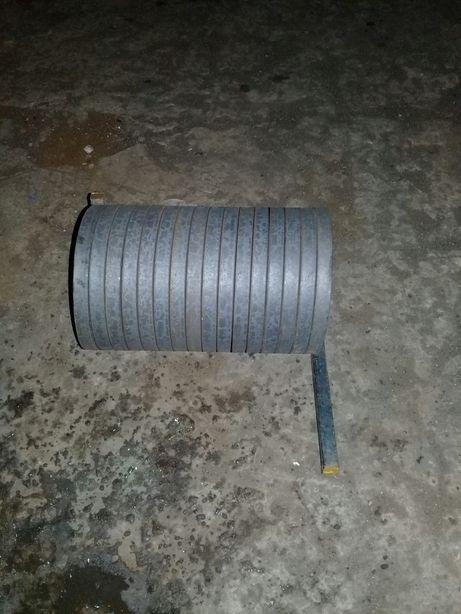 Виготовлення кілець з металлу для ковки .Изготовление колец с металла.