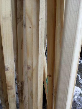 Listwy sztachety deska drewniana drewno