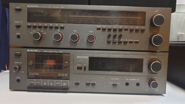 Wieża UNITRA AT 9115 z głośnikami